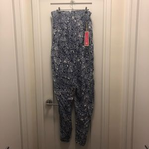 14c1e6123698 Lilly Pulitzer for Target Other - Lily Pulitzer Target NWT Blue White  Jumpsuit XXL